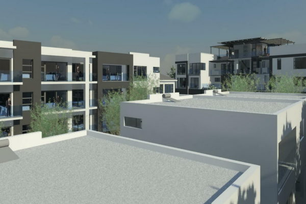 3221 Bryanston - View over North Units