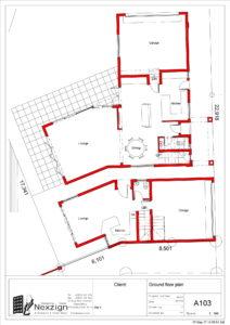 Portion 4 River Club Ground Floor Plan